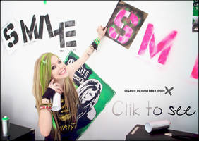 Avril, Smile gif 26 by nishux
