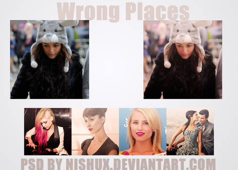 Wrong Places PSD.