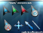 'Dark' glass cursors