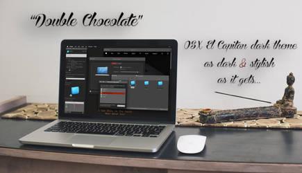 Double Chocolate OSX Dark Theme by jatcube