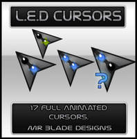 L.E.D Cursors by Mr-Blade