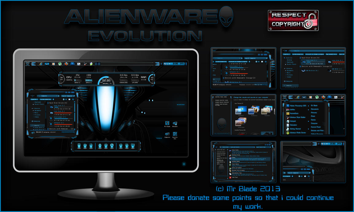 Alienware Evolution by Mr-Blade