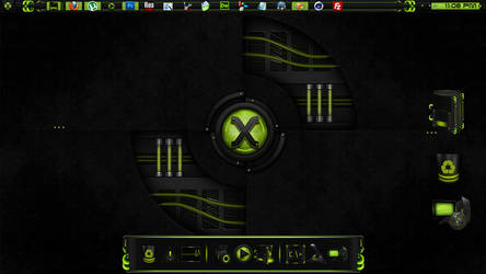 Reactor-X Dock and Icons