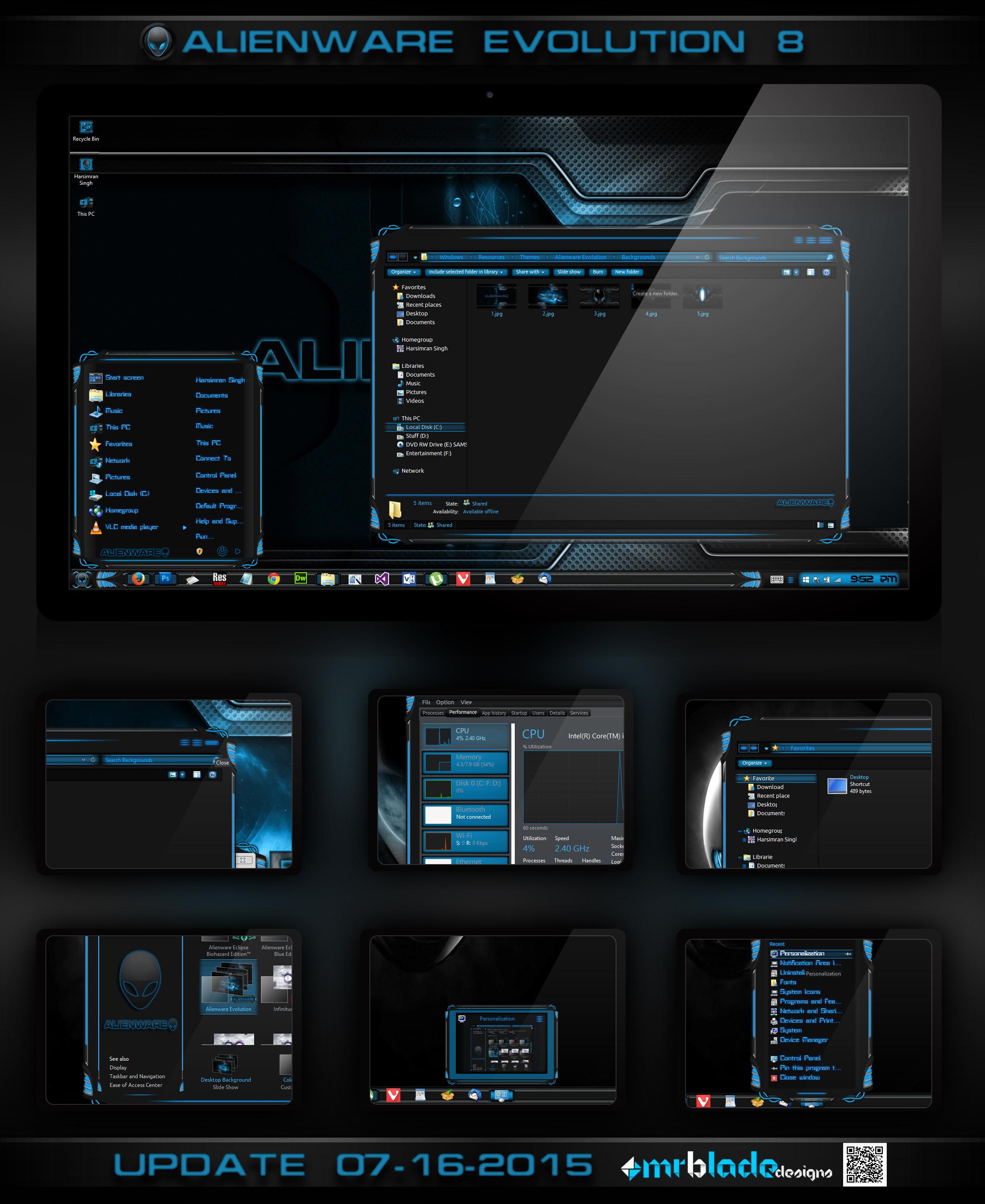 Alienware Evolution 8 by Mr-Blade