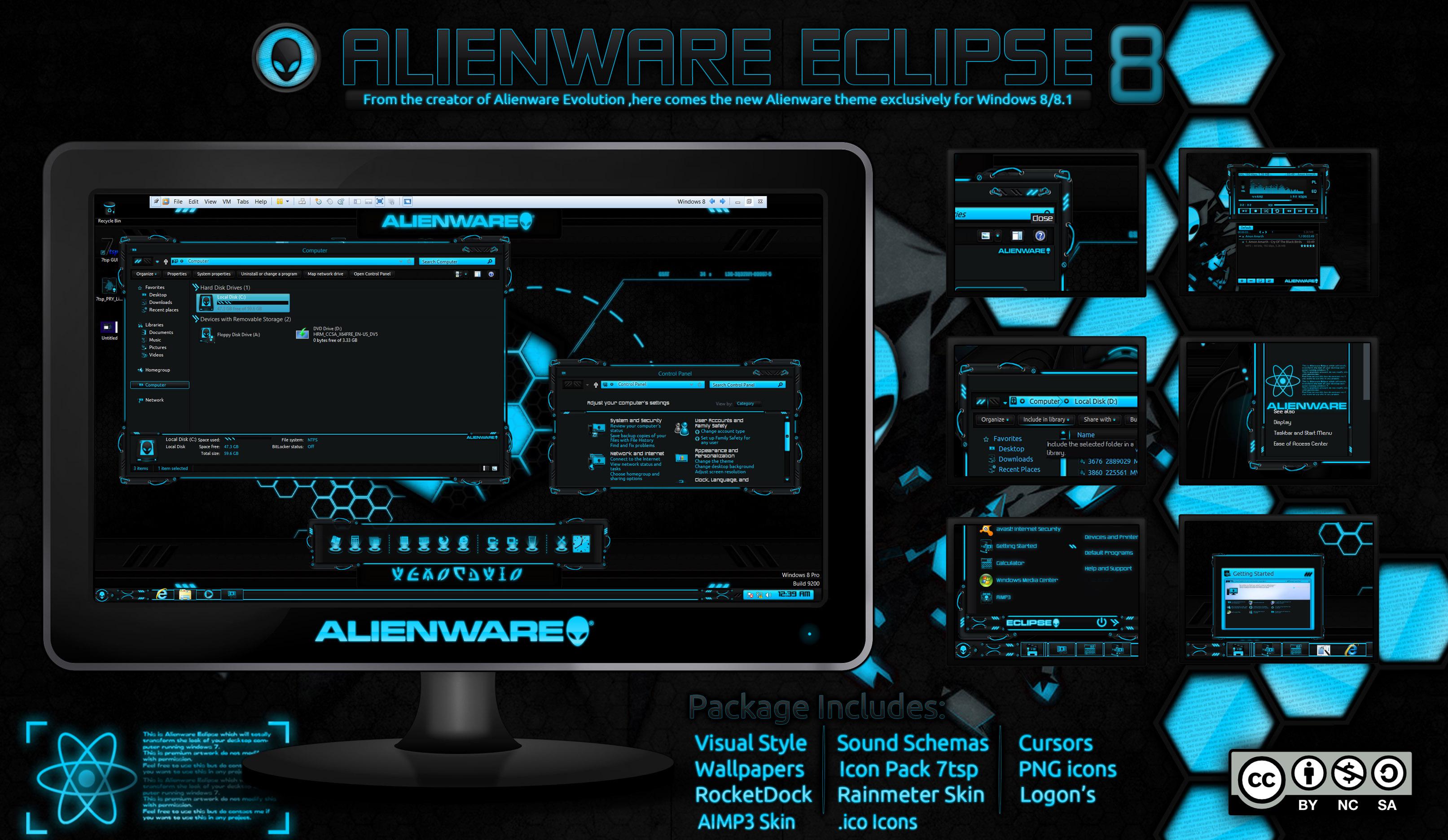 Alienware Eclipse win 8/8.1 [Update 6/28/2015]
