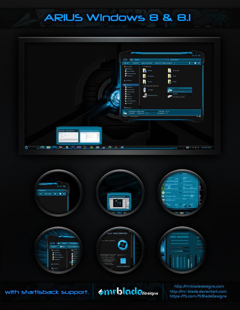 Arius Windows 8 by Mr-Blade