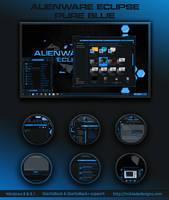 Alienware Eclipse Pure Blue Win 8 by Mr-Blade