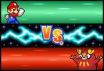Mario VS Darumaka -Test-