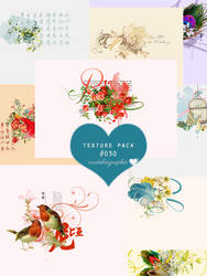 Vintage texture pack #O3O - Crudeliagraphic by MPepina