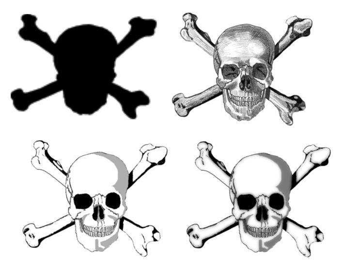 Skull and Crossbones brushes by webfoe