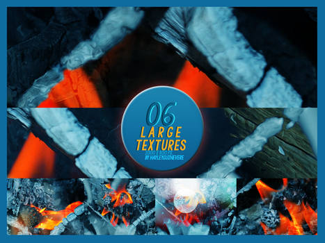 Texture pack 03 - 6 large textures