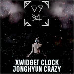 Jonghyun Crazy Clock XWidget