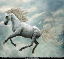 'Michelangelo's Flying Horse' by Dark-Oak-Trails
