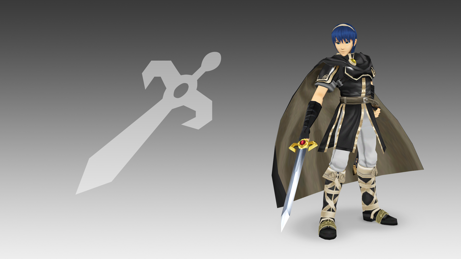 marth smash 3 wallpaper pack by tailsmiles249 on