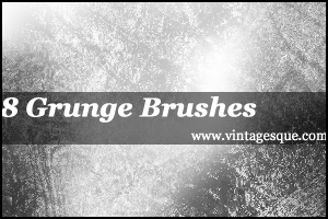 8 Grunge Brushes by crystalsmile