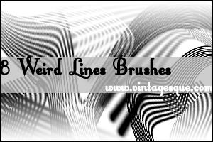 Random Lines Brushes by crystalsmile
