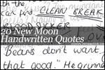 New Moon Handwritten Brushes
