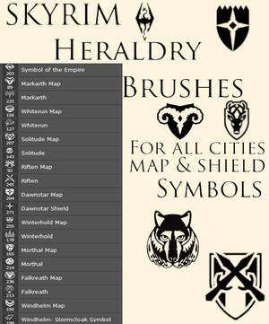 Skyrim Heraldry Brushes
