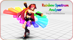 MMD Functional Prop: Rainbow Spectrum Analyzer