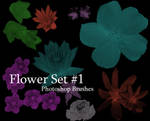 Floral photoshop brushes 1