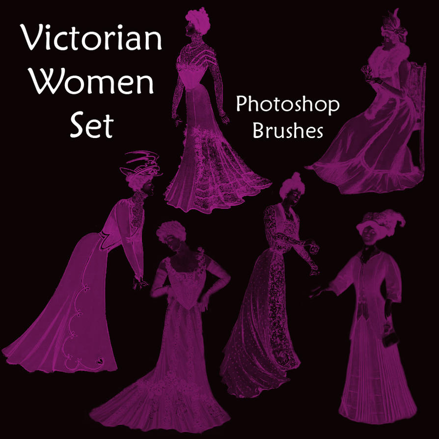 Victorian Women Set by redhead850