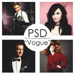 PSD Vogue
