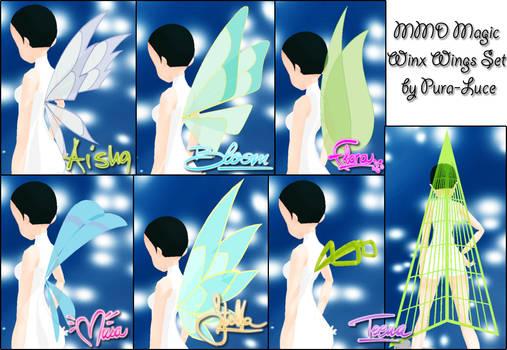 MMD WC - Magic Winx Wings Set