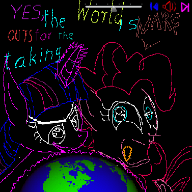 FLASH YAY my little Pony and Pinky and brain