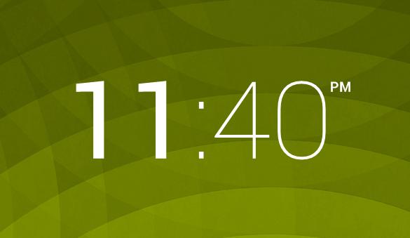 Minimal Clock 1.0 by ItsJackBattersby