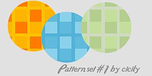 Patternset 1 by cicily by cicily