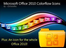 Office 2010 Colorflow Icons by DJDavid98