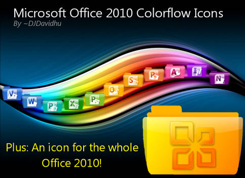 Office 2010 Colorflow Icons