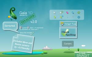 Gaia10 Cursors are FINALIZED 2 by DJDavid98