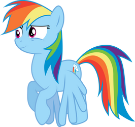 Rainbow Dash flying (S04E03) by DJDavid98