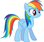 Rainbow Dash standing (S03E07)