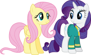 Fluttershy complimenting the PonyTones (S04E14)