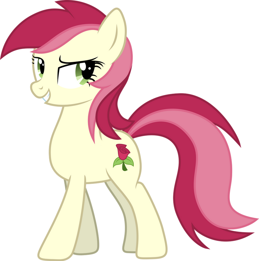Roseluck Smug (show accurate remake) by DJDavid98