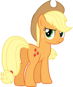 Disappointed Applejack (S02E15)