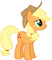 Applejack: Ah'm not so sure 'bout this (S01E09) by DJDavid98