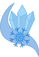 Ice Crystal Cutie Mark by DJDavid98