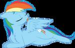 Grooming Rainbow Dash