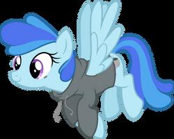Storm OC pony (show accurate remake) by DJDavid98