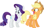 Rarity, Applejack - Mission Accomplished (S05E16)