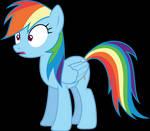 Surprised Rainbow Dash (S06E07)