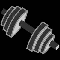 Bulk Biceps' Cutie Mark by DJDavid98