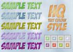 HQ Text Colour Styles
