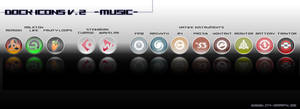 Dock Icons V.2 Musicproducing