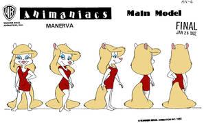 Minerva Mink Model Sheet