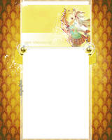 Anime youtube BG yellow by ShatterdRevolution