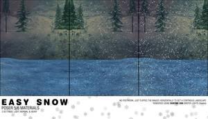 Easy Snow - Poser 5+ Mats